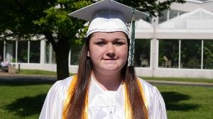 Alexandra Persily was the valedictorian of the Charleston Catholic High School Class of 2015. She attends Wake Forest University.