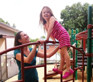 """Calling her time as an MMS """"magical,"""" Lee Roush couldn't wait to enroll her daughter Madison at our school."""