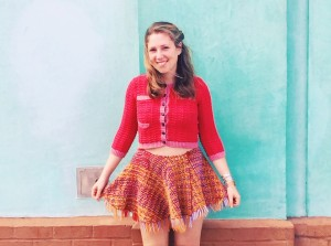 Upon her graduation with a BFA from the Pratt Institute, Caroline Kaufman was recognized for her innovation in textile and fiber arts with a prestigious Windgate Fellowship. She lives in Brooklyn.