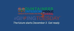 GIving Tuesday Middle School