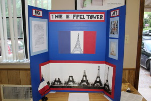 The Sixth Year Project includes preparation of displays.