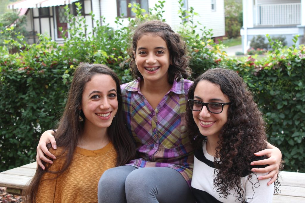 Deema, Leana and Jenna Kahwash